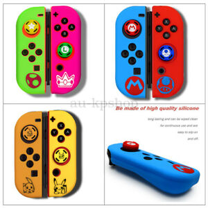 Joystick Caps Silicone Case Cover Skin Protector For NS Nintendo Switch AU