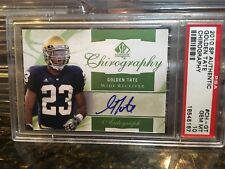 2010 GOLDEN TATE SP AUTHENTIC ROOKIE CHIROGRAPHY PSA 10 POP 1 WOW 1/1