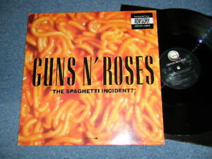 GUNS N' ROSES 1993 GEF24617 HOLLAND New LP The Spaghetti Incident? from Japan