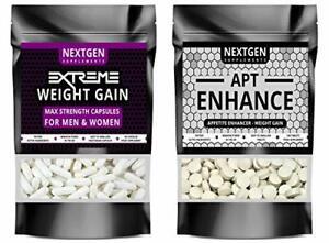 Extreme Weight Gain Anabolic & APT Appetite Enhancer Stimulant Bundle Strongest