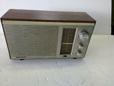 Radio Shack MTA-16 AM/FM Table Radio Works! Tested!