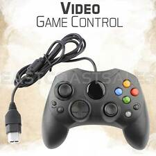 For XBOX S-Type Controller Original Microsoft Wired Black Video Game Pad
