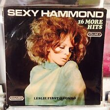 Leslie First&Combo-Sexy Hammond LP//NUDE/CHEESECAKE SLEEVE !!!!