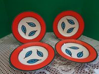 Villeroy Boch Rim Soup Bowls Set of 4 Novi Campagna l Discontinued