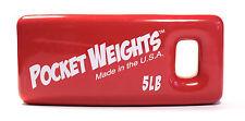 Pocket Weights Scuba Weight 5lb Single