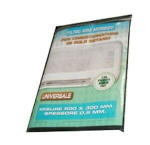 Filtro in poliuretano tipo morbido per condizionatori 470 x 300 x 5 mm