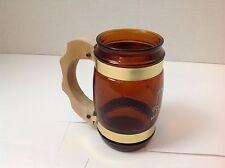 Vintage Collectible Western Style Glass Mug