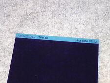 Microfich Ersatzteilkatalog Ersatzteilliste Vespa Piaggio TPH 50 TEC1T 560 1993