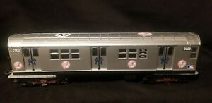 New O Gauge MTH N.Y. Yankees Subway Car 2000 Non-Powered L#3