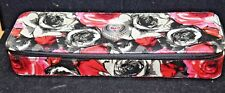BRIGHTON MADISON ROSE FLORAL ZIPPERED TRAVEL JEWELRY CASE