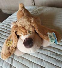 "VTG 80's Russ SAMUEL SPANIEL Dog 14"" Plush Stuffed Animal w/ Original Hang Tags"