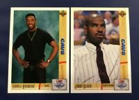 1991-1992 Upper Deck #6 #19 TERRELL BRANDON & JIMMY OLIVER ROOKIE RC Lot 2 Cavs