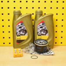 Piaggio MP3 500 Ölwechselset Ölfilter Original Öl Zündkerze Agip eni i-Ride 5W40