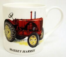 Massey Harris Tractor Mug Fine Bone China Large Balmoral Tractor Cup Decorate UK