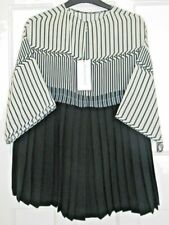 Amanda Wakeley Ladies Petite Chic Pleated Top - Size S