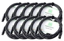 Pronomic Cable de micrófono XFXM-5  XLR 5 m (10 cables)