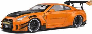 NISSAN GTR 35 LB WORK Type 2 2020 orange or mint green SOLIDO 1805803 1805804