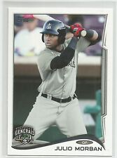 Julio Morban Seattle 2014 Topps Pro Debut Minor League