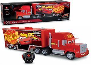 Disney Cars RC Mack Hauler 4+ Lightning McQueen Remote Control Car Truck Trailer