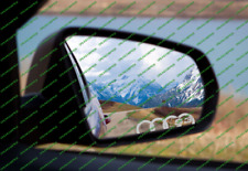 2 X S1 S3 S4 S5 S6 S7 RINGS ETCHED GLASS WING MIRROR WINDOW DECAL STICKER