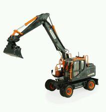 DOOSAN DX160W wheeled excavator (BLACK EDITION) 1:50, UNIVERSAL HOBBIES