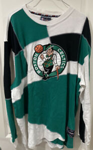 Vintage UNK NBA Licensed Apparel Boston Celtics Sweatshirt Pullover Sz 2XL RARE