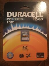 Duracell Pro Photo Flash Memory Card, 16 GB. 200x
