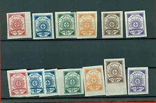 LATVIA LETTLAND SET 1919 13 STAMPS Sc.10-13;14-15 MNH/MINT 86