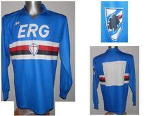 Rare 1988-90 Sampdoria L/S Home Football Shirt Soccer Jersey Vintage size L