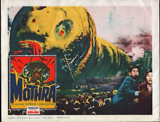 MOTHRA original 1962 lobby card TOHO SCI-FI 11x14 movie poster
