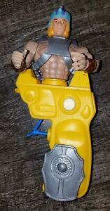 Gun Man Magnon Figure Galaxy Warriors Yellow Squirt Gun Chicos Spain MOTU KO