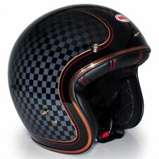 BELL CUSTOM 500 RSD CHECK IT MOTORCYCLE OPEN FACE CRASH HELMET #LONDON #ACECAFE