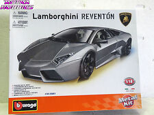 BURAGO #15051 Diecast car kit LAMBORGHINI REVENTON 1:18 METAL KIT New in box