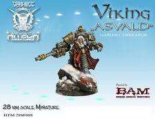 HITECH MINIATURES - 28SF088 Asvald 28mm Warhammer 40k 40000
