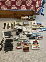 Vintage Lionel Bachman HO Trains NW Engine Right Left Hand Switch Plasticville