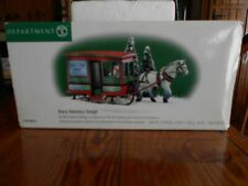 Dept 56 New England Village Accessory Dairy Delivery Sleigh Nib