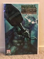 MARVEL ZOMBIES: RESURRECTION 1 RYAN BROWN VARIANT -TRADE DRESS-THOR