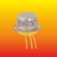 2T603G 2Т603Г LOT=3 RUSSIAN MILITARY SILICON NPN TRANSISTOR 0.5W 0.3/0.6A AU