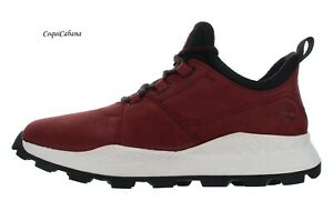 """Timberland Men's """"Brooklyn Oxford"""" Dark Red Leather Shoes Multiple Size NIB"""