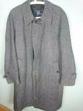 """Mens Burberry prorsum Lambswool Tweed Trench Overcoat 40"""""""