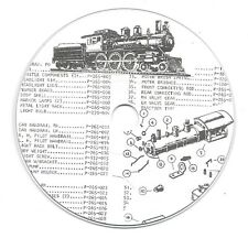 RIVAROSSI & POCHER ILLUSTRATED PARTS LISTS with EXPLODED VIEWS on CD (#2)