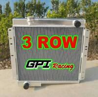 gpi 62mm 3 ROW FOR For TOYOTA LANDCRUISER BJ40 BJ42 ALUMINUM RADIATOR