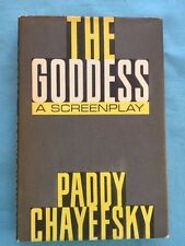 THE GODDESS - FIRST EDITION SIGNED BY ACTRESS KIM STANLEY