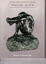 Catalogue vente Tableau moderne Art Deco Jiri Kars Galle Steinlen Besnard