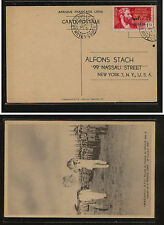 French  Equitorial Africa  131 on special post card to  US         SSS0412