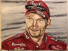 "Beautiful ""Dale Earnhardt Jr"", Original Art Canvas Painting"