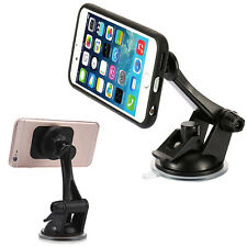 Car Windscreen Dashboard Suction Magnet Stand Holder Mount For Mobile Phone GPS
