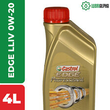 Olio Motore Castrol EDGE Professional LL IV FE 0W20 TITANIUM FST 4 Litri