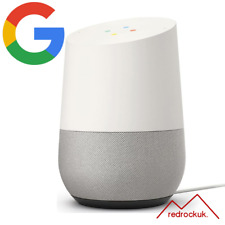 Google Home Hands-Free Voice Commands Assistant Smart Speaker - White