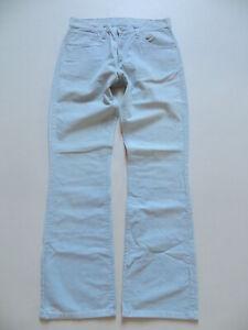 Levi's 525 Cord Bootcut Jeans Hose, W 31 /L 32, hellblau, TOP Cordhose, KULT !